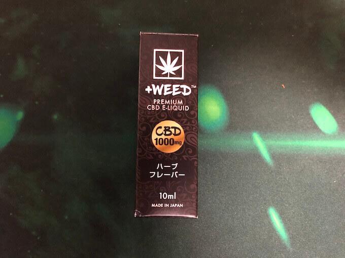 +WEEDリキッド ハーブフレーバー10%