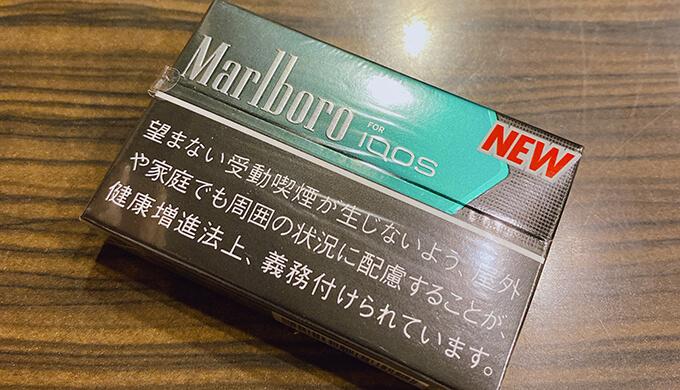 iQOSブラック・メンソール