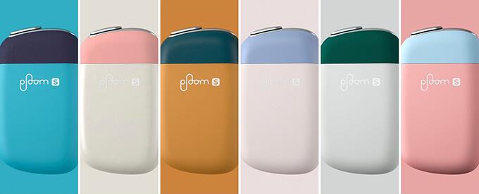plooms 2.0の新カラー6色