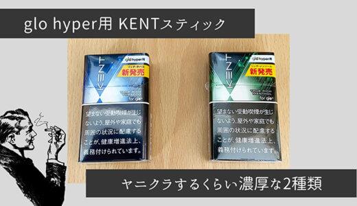 【glo hyper 新フレーバー レビュー】KENTシリーズから「リッチ・シリーズ」2種類が登場!濃厚なのに価格も安い!